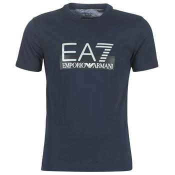 textil Hombre camisetas manga corta Emporio Armani EA7 GPT81-PJM9Z-1554 Marino