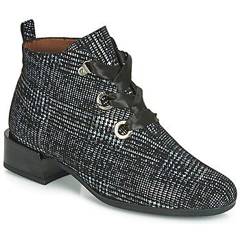 Zapatos Mujer Botas de caña baja Hispanitas DIANA Negro