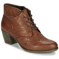Zapatos Mujer Botines Rieker Y2131-24 Marrón
