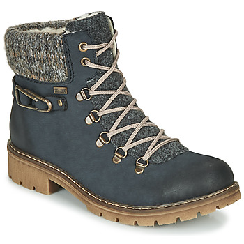 Zapatos Mujer Botas de caña baja Rieker Y9131-16 Azul