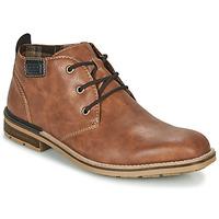 Zapatos Hombre Botas de caña baja Rieker BELAM Marrón