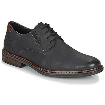 Zapatos Hombre Derbie Rieker 17600-03 Negro