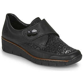 Zapatos Mujer Mocasín Rieker 537C0-02 Negro
