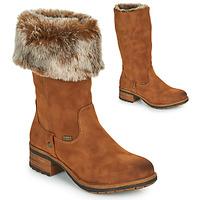 Zapatos Mujer Botas urbanas Rieker 96854-26 Camel