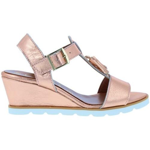 Zapatos Mujer Sandalias Carmela Carmela 66758 Sandalias Casual de Mujer Rosa