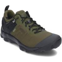 Zapatos Hombre Senderismo Keen 1021169 Negros, Verde olivo