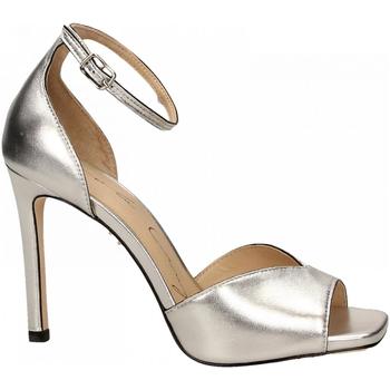 Zapatos Mujer Sandalias Lola Cruz  plata-platino