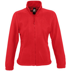 textil Mujer Polaire Sols NORTH POLAR WOMEN Rojo