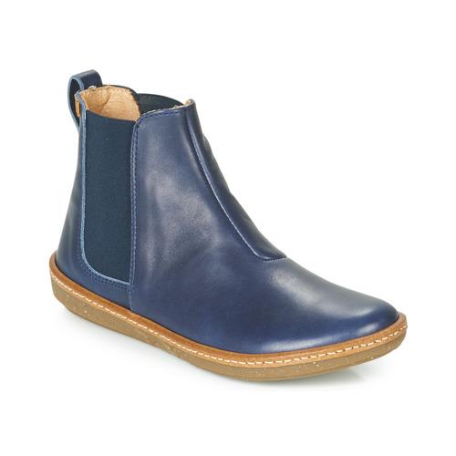 Coral El Zapatos Mujer De Azul Baja Botas Naturalista Caña DW9YEH2I