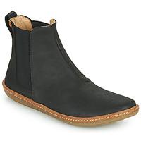 Zapatos Mujer Botas de caña baja El Naturalista CORAL Negro