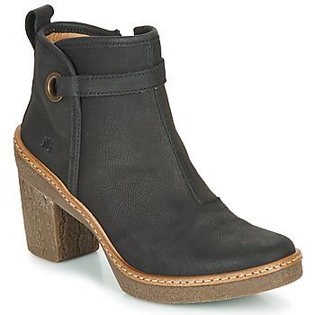 Zapatos Mujer Botines El Naturalista HAYA Negro