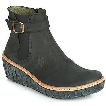 Zapatos Mujer Botines El Naturalista MYTH YGGDRASIL Negro