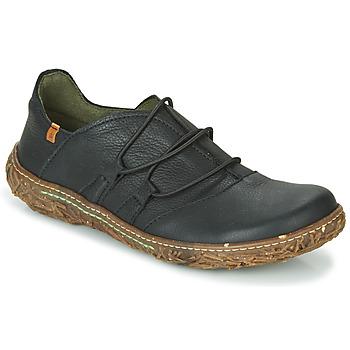 Zapatos Mujer Derbie El Naturalista NIDO Negro