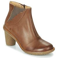 Zapatos Mujer Botines El Naturalista TRIVIA Marrón