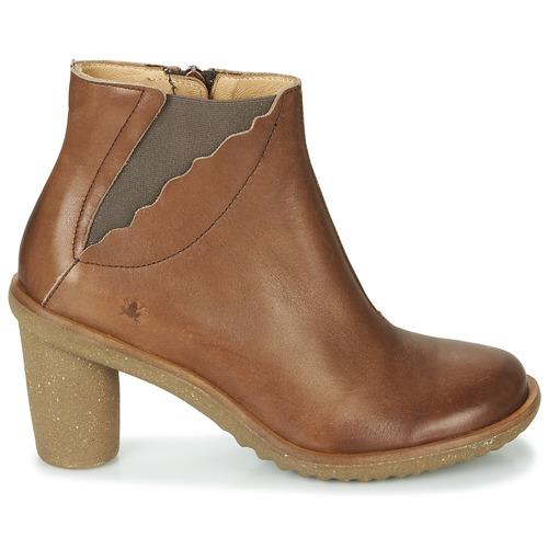 Naturalista El Zapatos Marrón Botines Mujer Trivia 3RcA5L4jq