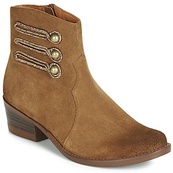 Zapatos Mujer Botas de caña baja Mam'Zelle JUDITH Cognac