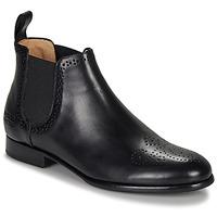 Zapatos Mujer Botas de caña baja Melvin & Hamilton SALLY Negro
