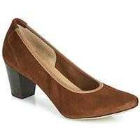 Zapatos Mujer Zapatos de tacón Perlato 10362-CAM-COGNAC Cognac