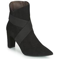 Zapatos Mujer Botines Perlato 11327-CAM-NOIR Negro