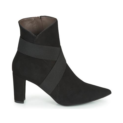 Negro cam noir Mujer Perlato Botines Zapatos 11327 QtdxhsrCB