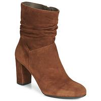 Zapatos Mujer Botines Perlato 11265-CAM-COGNAC Cognac