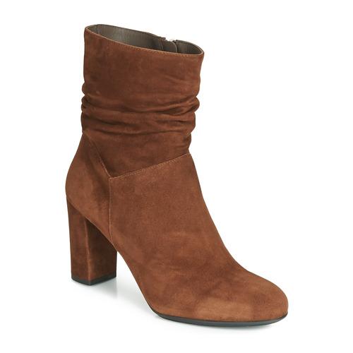 Botines cognac 11265 Mujer Zapatos Cognac Perlato cam ON80wyvmn