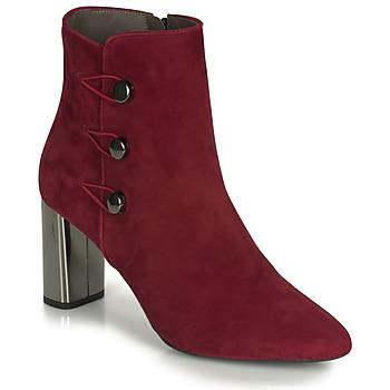 Zapatos Mujer Botines Perlato 11312-CAM-ROUGE Rojo