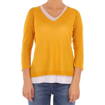 textil Mujer Jerséis Gran Sasso 58217 suéteres mujer amarillo amarillo