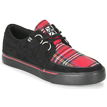 Zapatos Zapatillas bajas TUK CREEPER SNEAKERS Negro / Escocés