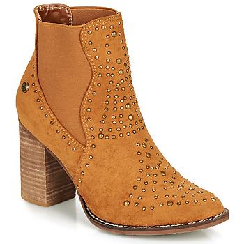 Zapatos Mujer Botines Xti AMELIO Camel