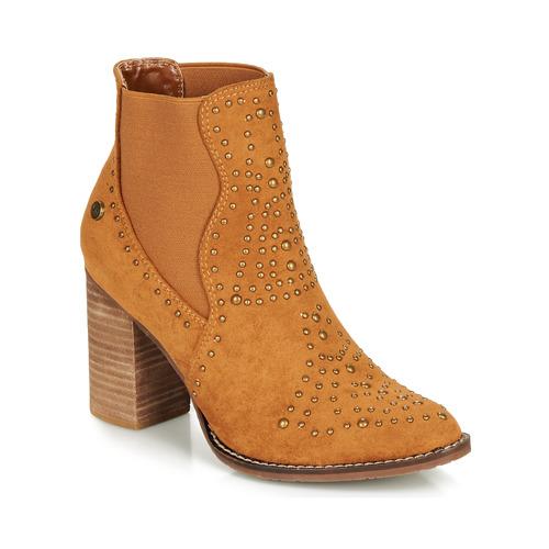 Xti AMELIO Camel - Envío gratis   ! - Zapatos Botines Mujer