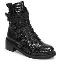 Zapatos Mujer Botas de caña baja Mimmu RIPTILUS Negro