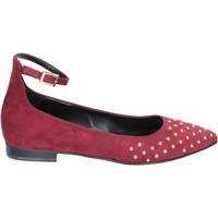 Zapatos Mujer Bailarinas-manoletinas Olga Rubini bailarinas gamuza burdeos