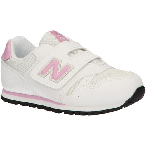 Zapatos Niña Zapatillas bajas New Balance IV373BT Blanco