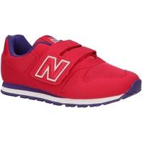 Zapatos Niños Multideporte New Balance YV373PY Rosa