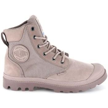 Zapatos Mujer Botas de caña baja Palladium Manufacture Pampa Sport Cuff Wpn Grises