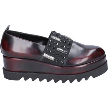 Zapatos Mujer Slip on Olga Rubini slip on cuero sintético burdeos