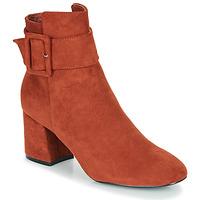Zapatos Mujer Botines Moony Mood FAZIOLE Rojizo