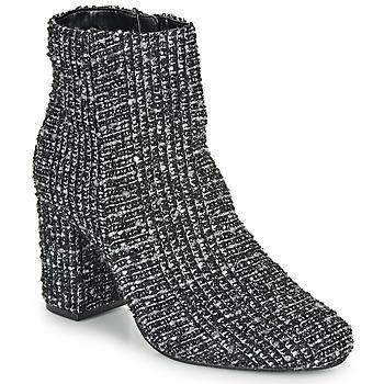Zapatos Mujer Botines Moony Mood FRIPON Negro / Blanco