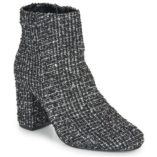 Mood Zapatos NegroBlanco Botines Moony Mujer Fripon 92DEHI