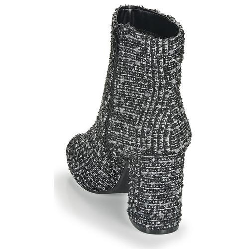 Zapatos Mood NegroBlanco Mujer Botines Moony Fripon MzVpGSqU