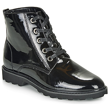 Zapatos Mujer Botas de caña baja Moony Mood FRULIN Negro