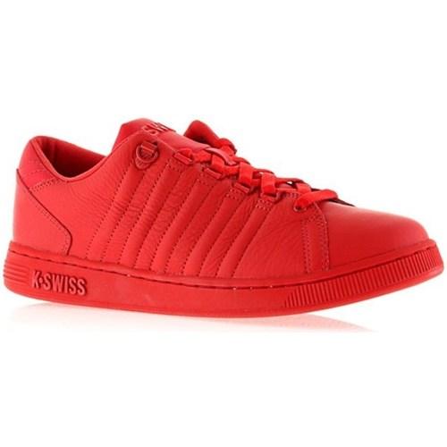 Zapatos Mujer Zapatillas bajas K-Swiss Lozan Iii Monochrome Rojos