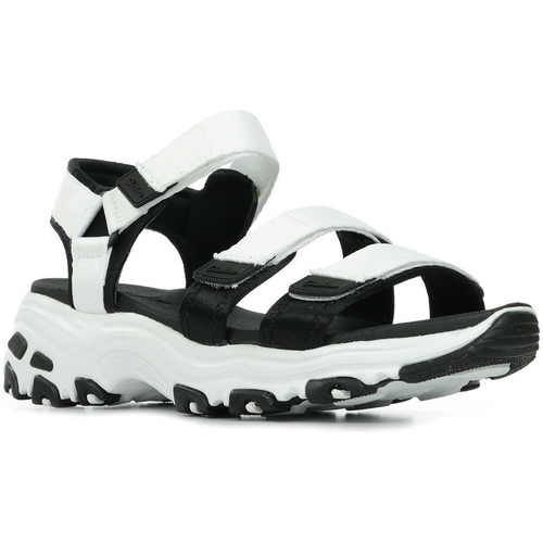 Zapatos Mujer Sandalias de deporte Skechers D'Lites Fresh Catch Blanco
