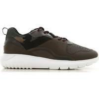 Zapatos Hombre Zapatillas bajas Hogan HXM3710AQ10JIU737D color Mimetico