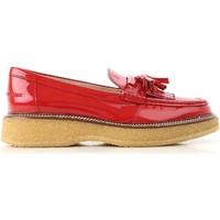 Zapatos Mujer Mocasín Tod's XXW30B0AK700W0R402 Rosso vivo