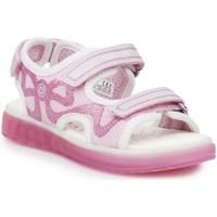 Zapatos Niños Sandalias de deporte Geox J Sblikk GB Rosa