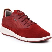 Zapatos Hombre Zapatillas bajas Geox U Aerantis A Rojo burdeos