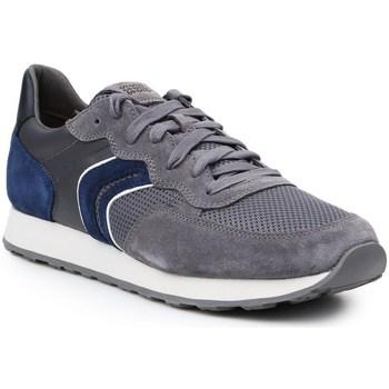Zapatos Hombre Zapatillas bajas Geox U Vincit Grises,Azul marino