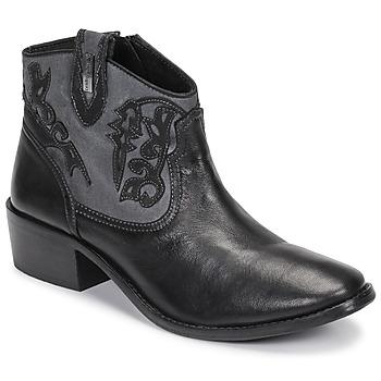 Zapatos Mujer Botines Les Tropéziennes par M Belarbi AMELIE Negro